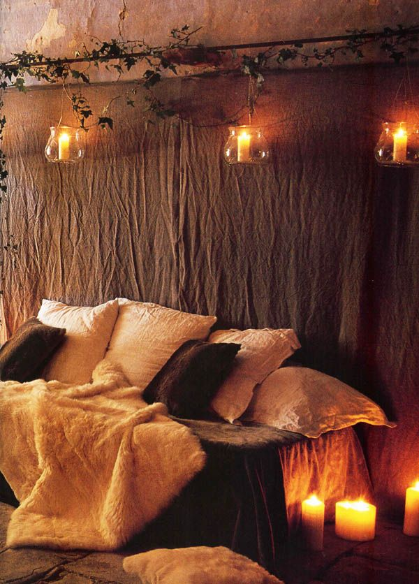66 Inspiring ideas for Christmas lights in the bedroom Christmas