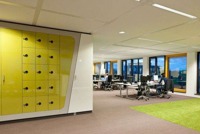 Brunel Is An International Recruitment Agency Rotterdam Office Interior Design And Project Management By