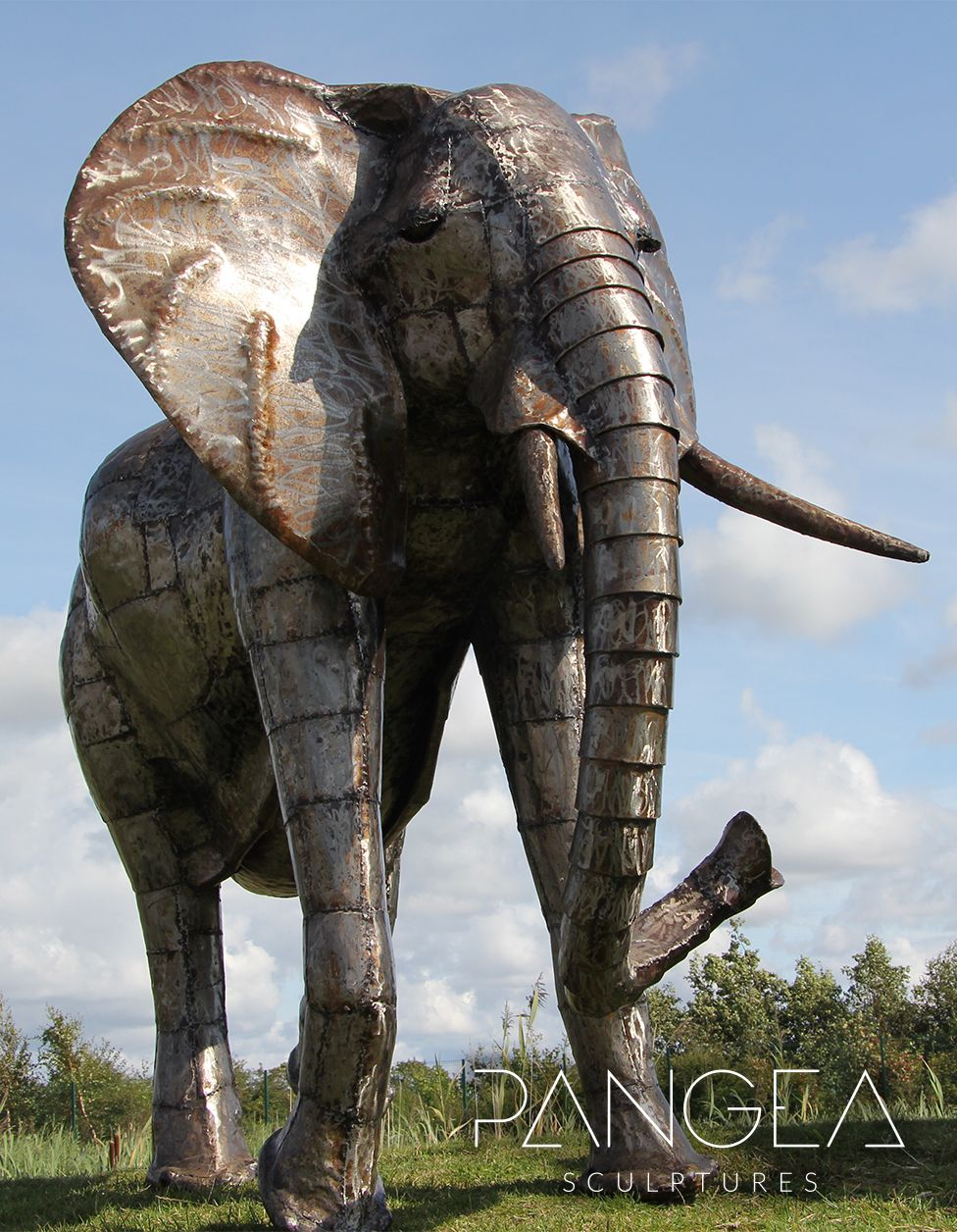 Superbe Our 6ft Tall Large Metal Elephant Sculpture Is One Of Our Many Large  Elephant Ornaments To
