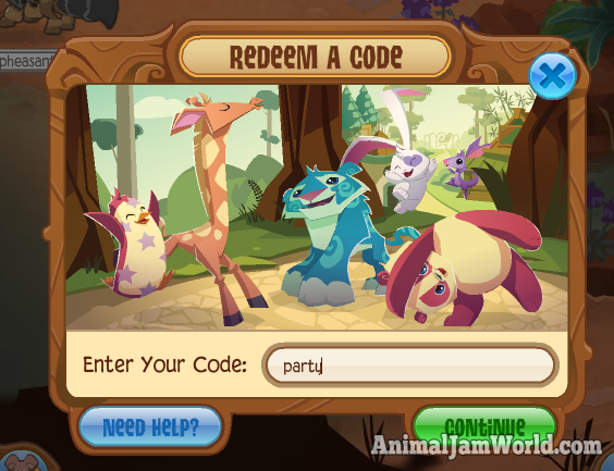 Animal Jam Light Up Ring Code
