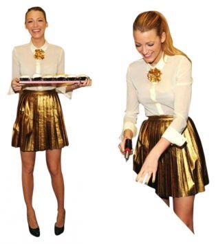 Bronze mini skirts size 29 1
