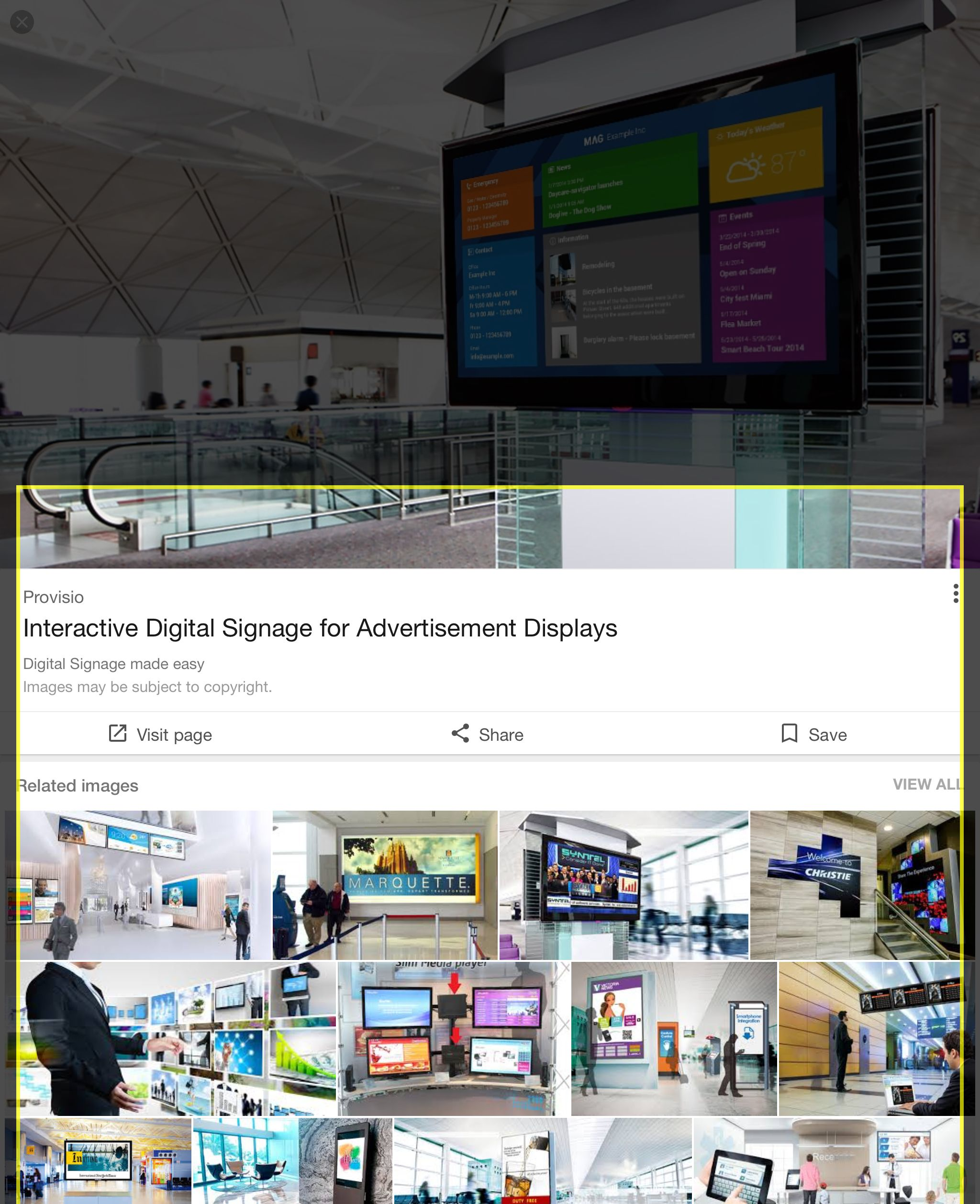 interactive digital signage - Google Search | Touchscreen