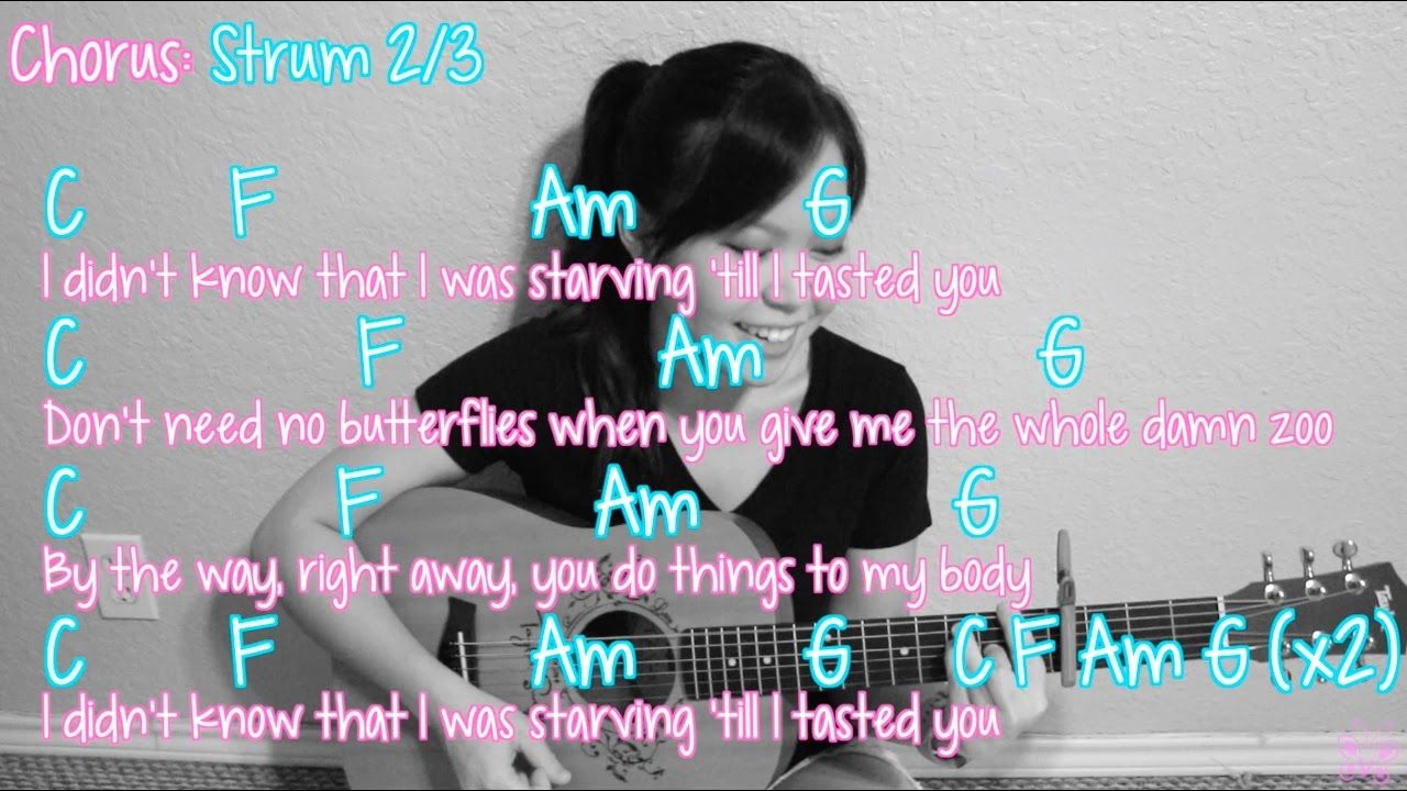 This Is Me Demi Lovato Guitar Chords Gallery Basic Guitar Chords