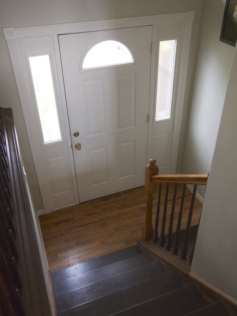 Split entry stairway google search remodel ideas for Split foyer remodel