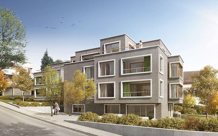 Supparch suter partner architekten ag 1 rang for Mehrfamilienhaus neubau