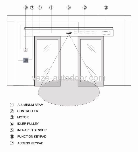 Patio Door Cad Drawing: Glass Door Handle Assembly Drawing - Google Search