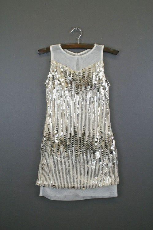 d6107348720c Gold Sequin Dress For Tween