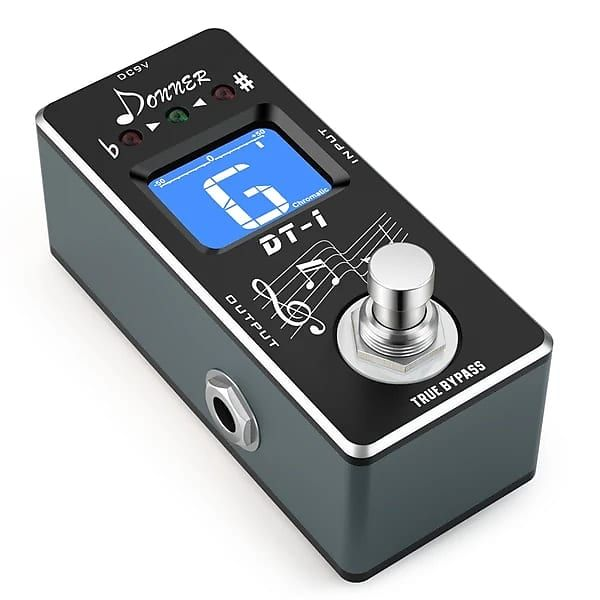 Chromatic Guitar Pedal Tuner - True Bypass by Donner | Gear Up, Cover Up | Reverb