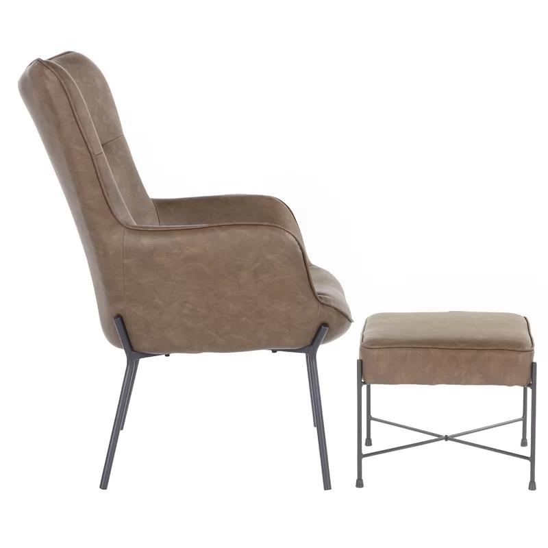 Tedeschi Lounge Chair And Ottoman In 2020 Chair Ottoman Chair
