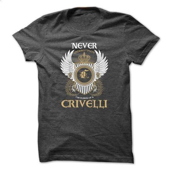 CRIVELLI Never Underestimate - design your own t-shirt #hoodies womens #sweatshirt design