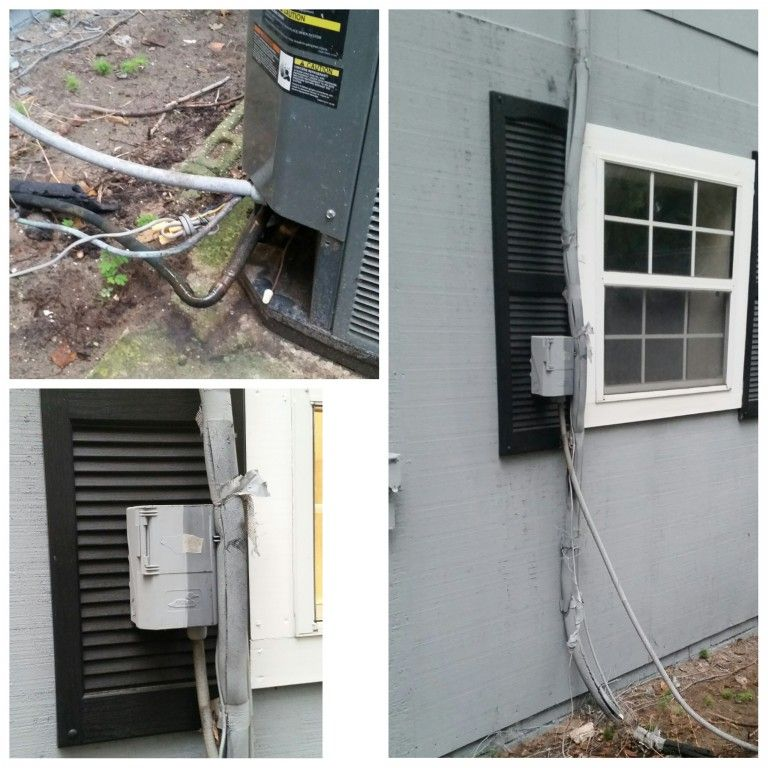 No permit job, disconnect and freon lines attached to shutters, this
