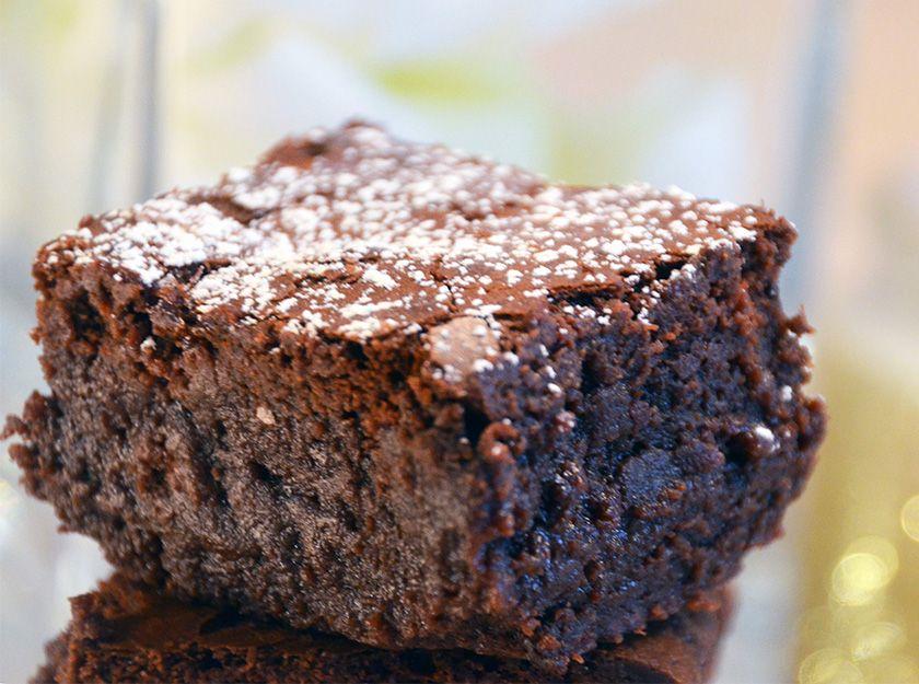 Das Perfekte Brownie Rezept Schokoladig Saftig Lecker Food