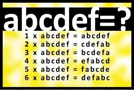 What is abcdef? Coisas aleatórias