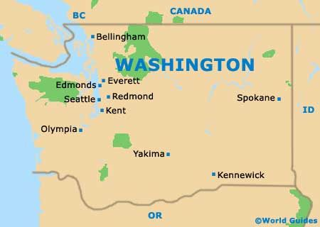 map of seattle wa - Google Search | kids need to know | Map ...