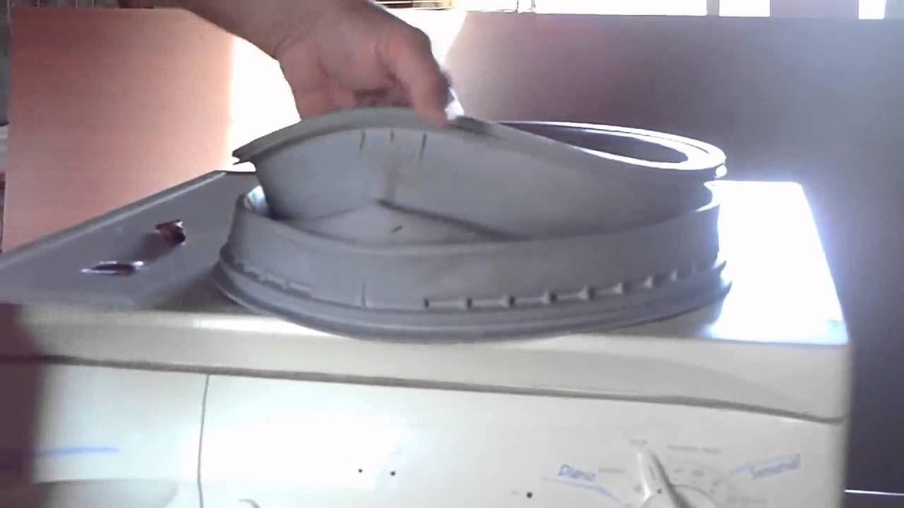 Cambiar Goma Lavadora O Reparar Por Menos De 1 Con Imagenes