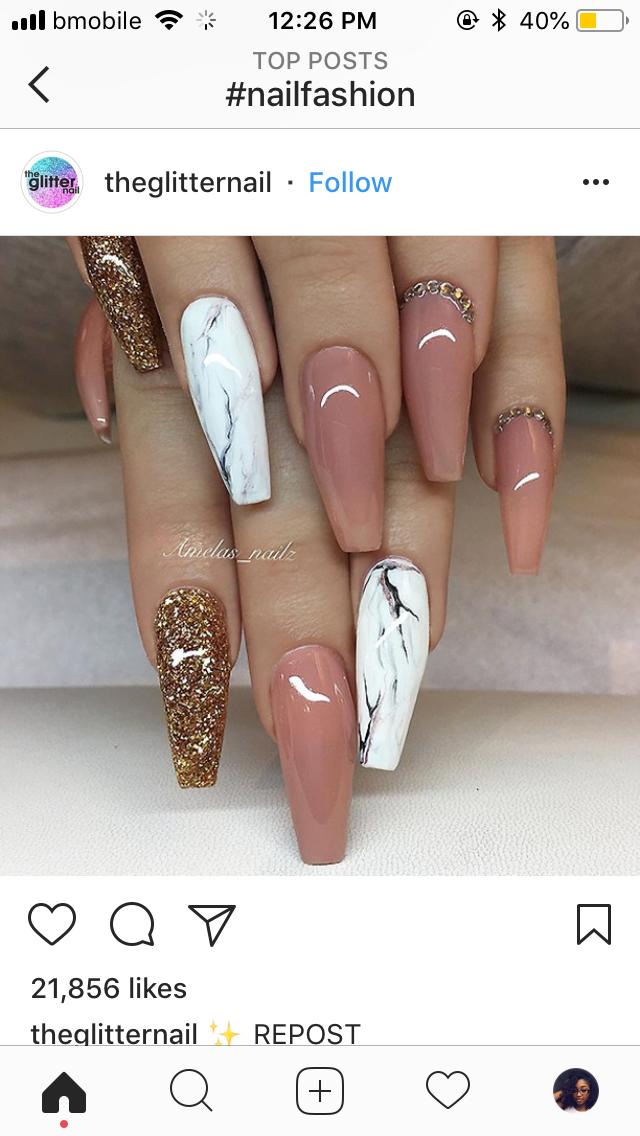 Nails, acrylic nails, long acrylic nails, short acrylic nails, nail ...