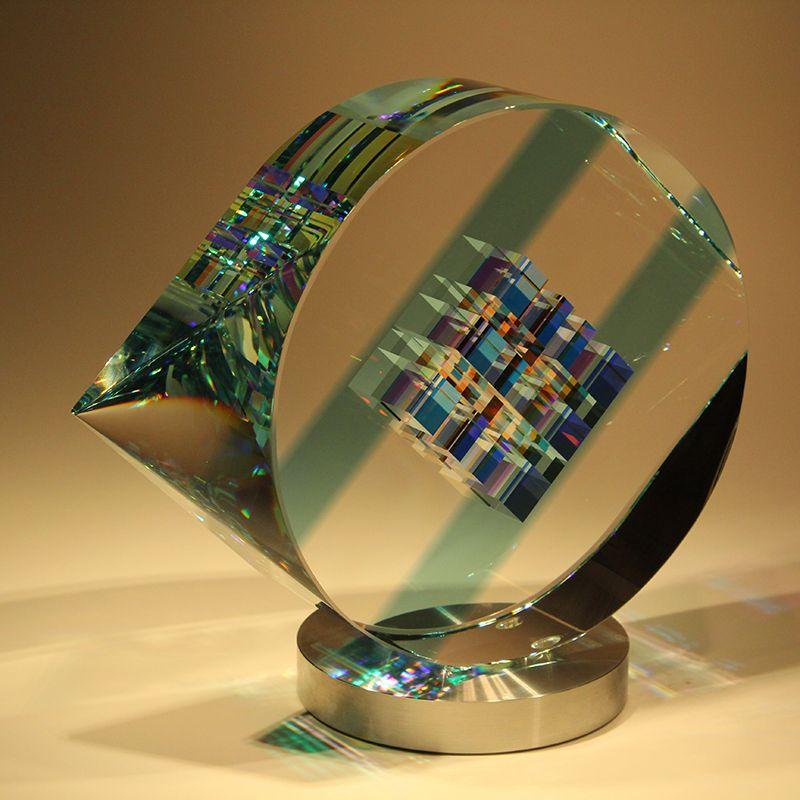 Sapphire Eye Blown Glass Art Jack Storms Glass Glass Art