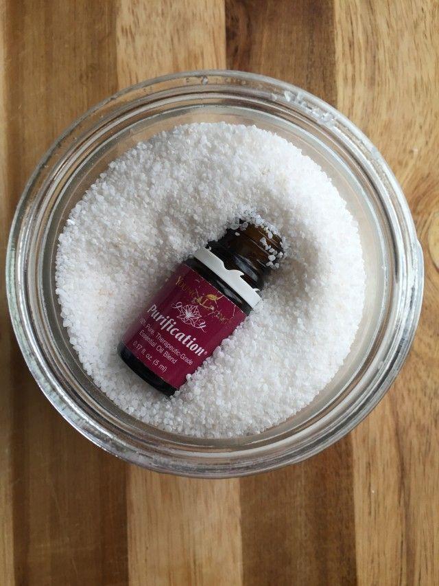 Easy Bath Salts With Essential Oils | Pinterest | Bath salts ...