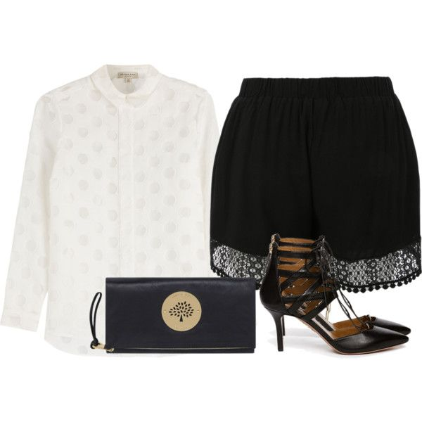 Trend by izzeybellalaine on Polyvore featuring Burberry, Aquazzura and Mulberry