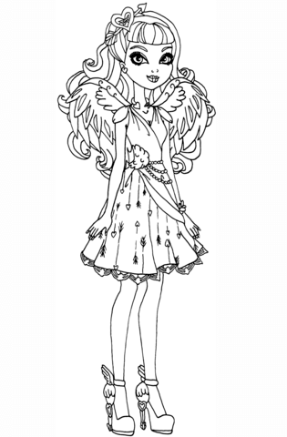 Supercoloring Ever After High Concept