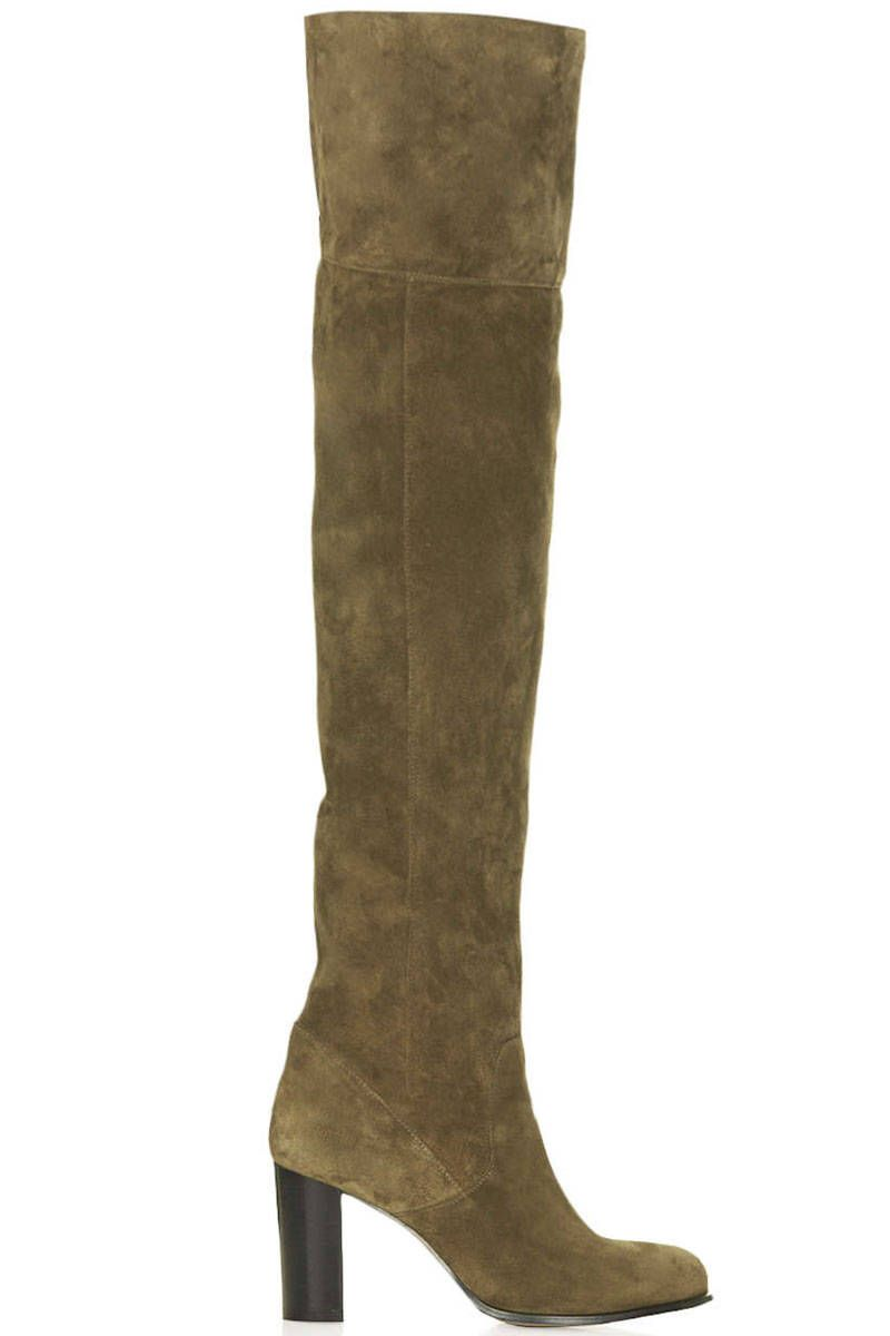 Topshop boots, $240, us.topshop.com.   - HarpersBAZAAR.com