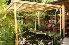 Bambus Pergola Beautiful Gazebo Patio Design With Bambus