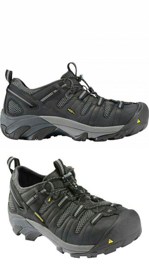 Zapato de trabajo con punta de acero Cool Atlanta KEEN Utility para hombre, Negro, 10.5 D US