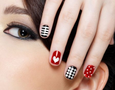 12 easy to do cute heart nail designs and tutorial nail nail 12 easy to do cute heart nail designs and tutorial prinsesfo Gallery