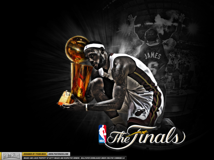 Lebron James Miami Heat Nba Finals Championship Wallpaper 2012 Lebron James Miami Heat Miami Heat Lebron James Wallpapers