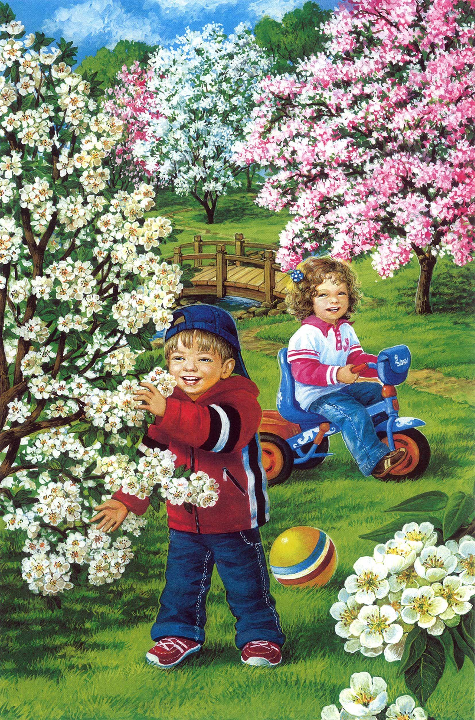 Весна: картинки для детей   Preșcolari, Activități ...