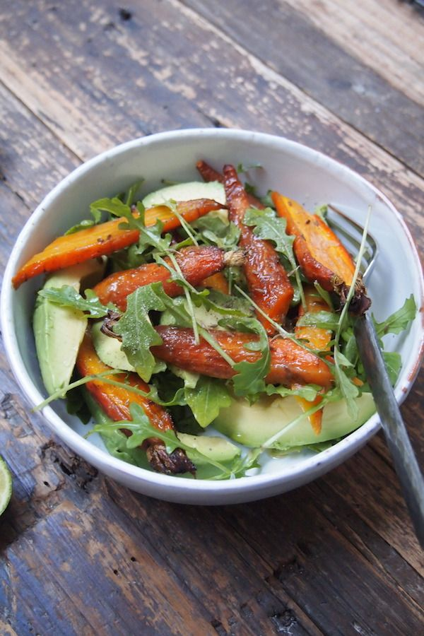 salade carottes r ties avocat et cumin de paris dans ma cuisine food pinterest salad. Black Bedroom Furniture Sets. Home Design Ideas
