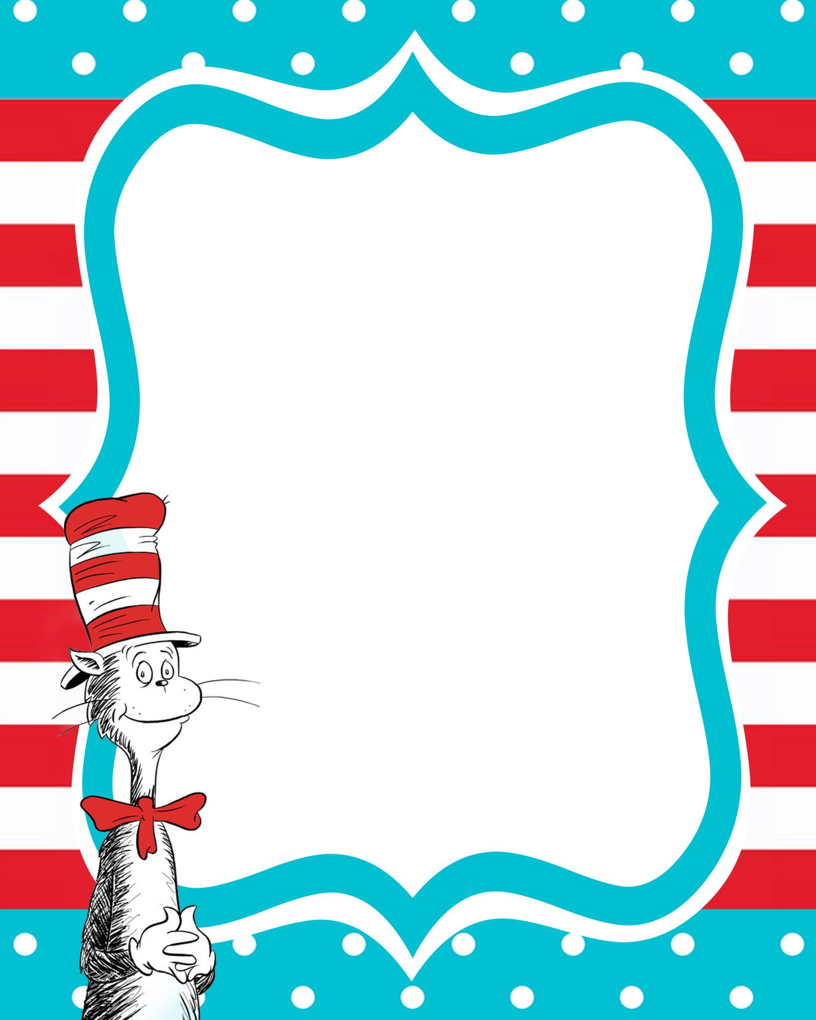 Dr Seuss Invitation Black WITH Cat lollyjane.com.jpg - File Shared ...