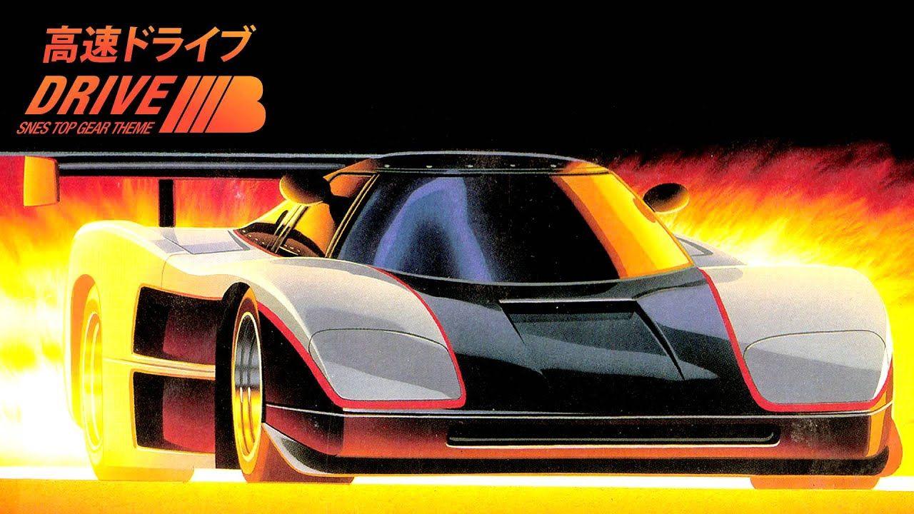Snes Top Gear Top Racer Track 1 Theme Progressive Electro Remake Musica Gif