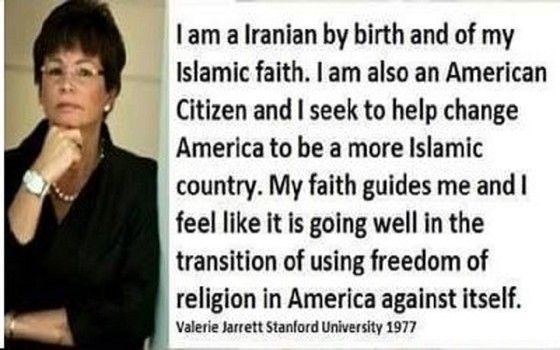 Image result for valerie jarrett