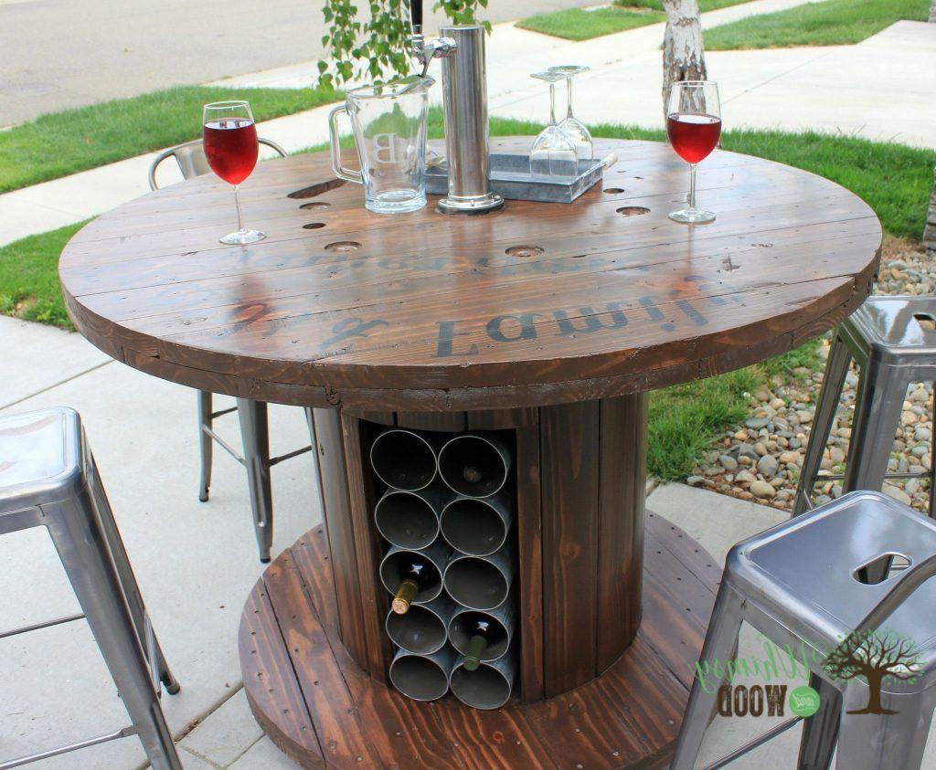 Cable Spool Table For Sale Unique Vino Tavolo Wine Table Every