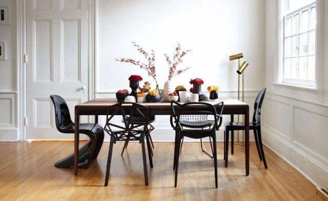 Chaise salle à manger - quelle couleur convient le mieux? Design - salle a manger design moderne