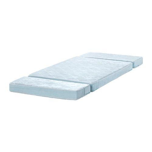 Vyssa Vackert Mattress For Extendable Bed Blue 80x200 Cm Ikea