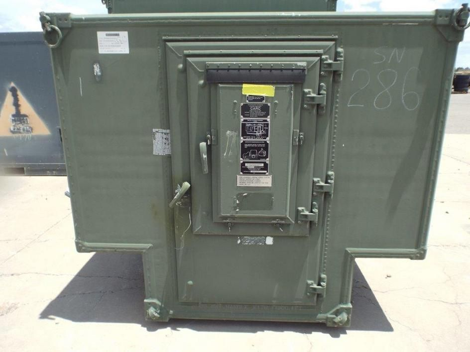 Shtf Shelter: Gichner Shelter Systems S 250/G Non-expandable Shelter