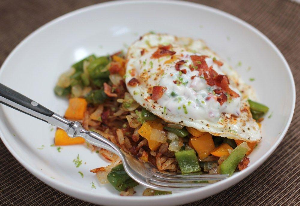 Better than a restaurant southwest breakfast bowl