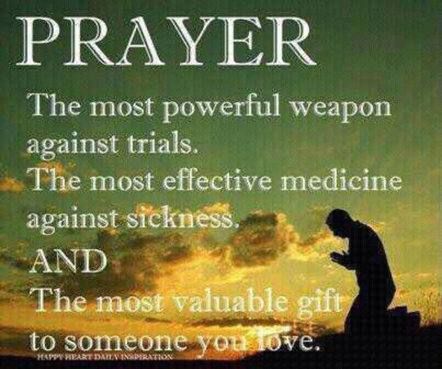 Prayer is the most valuable gift to someone you love  | **Speak Life