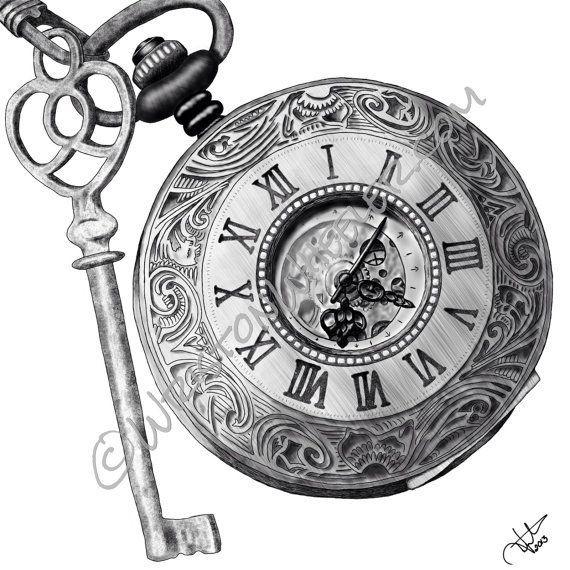 Dibujos De Relojes Para Tatuar