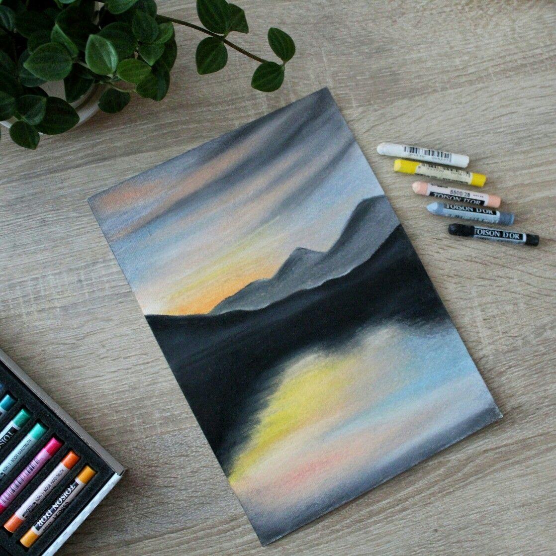 Epingle Par Shahyneze Lessard Sur Art Pastel A L Huile Idee