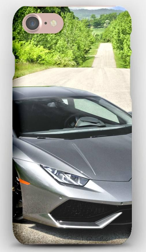 IPhone 7 Case Lamborghini, Huracan, Lp 610 4, Front View