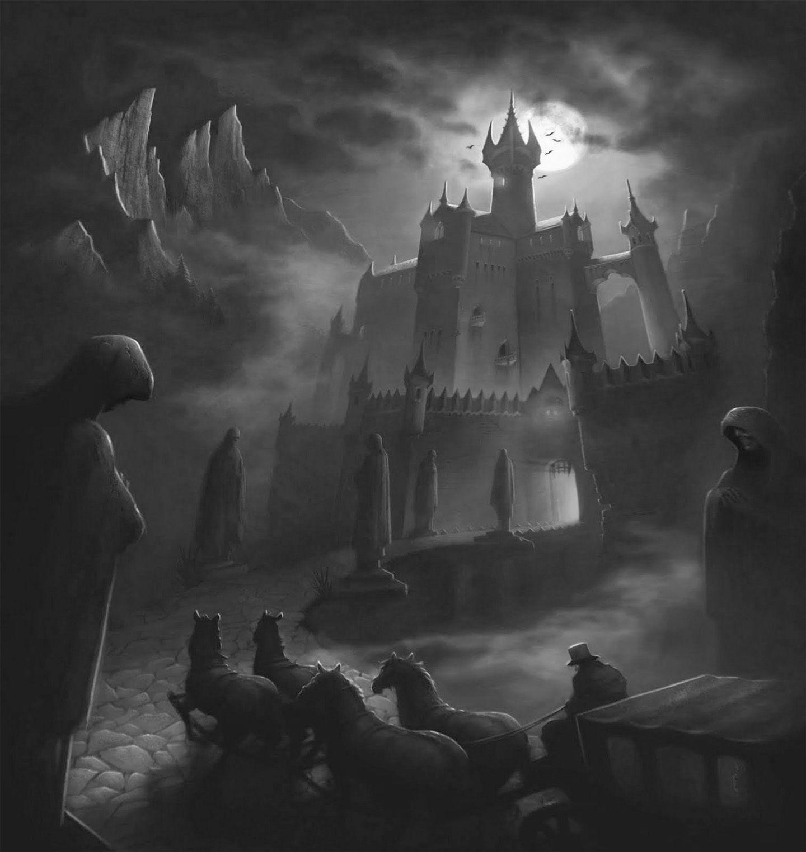 spooky castle | halloween | pinterest
