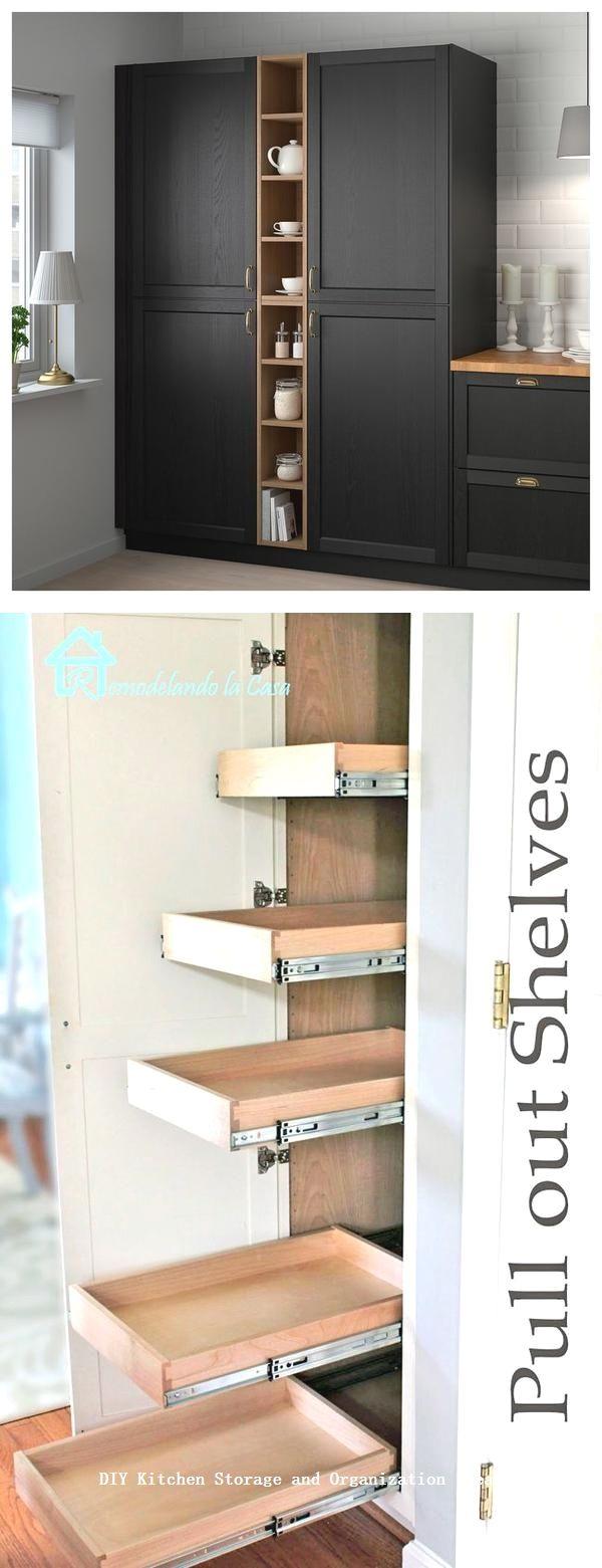Portaoggetti Da Parete Per Cucina 12 diy kitchen storage ideas for more space in the kitchen 1