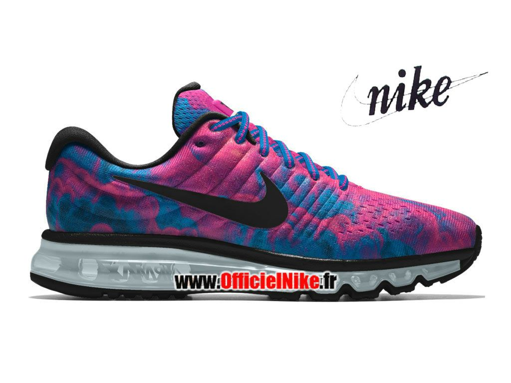 FemmeFille Chaussures Nike Wmns Air Max 2017 iD Rose