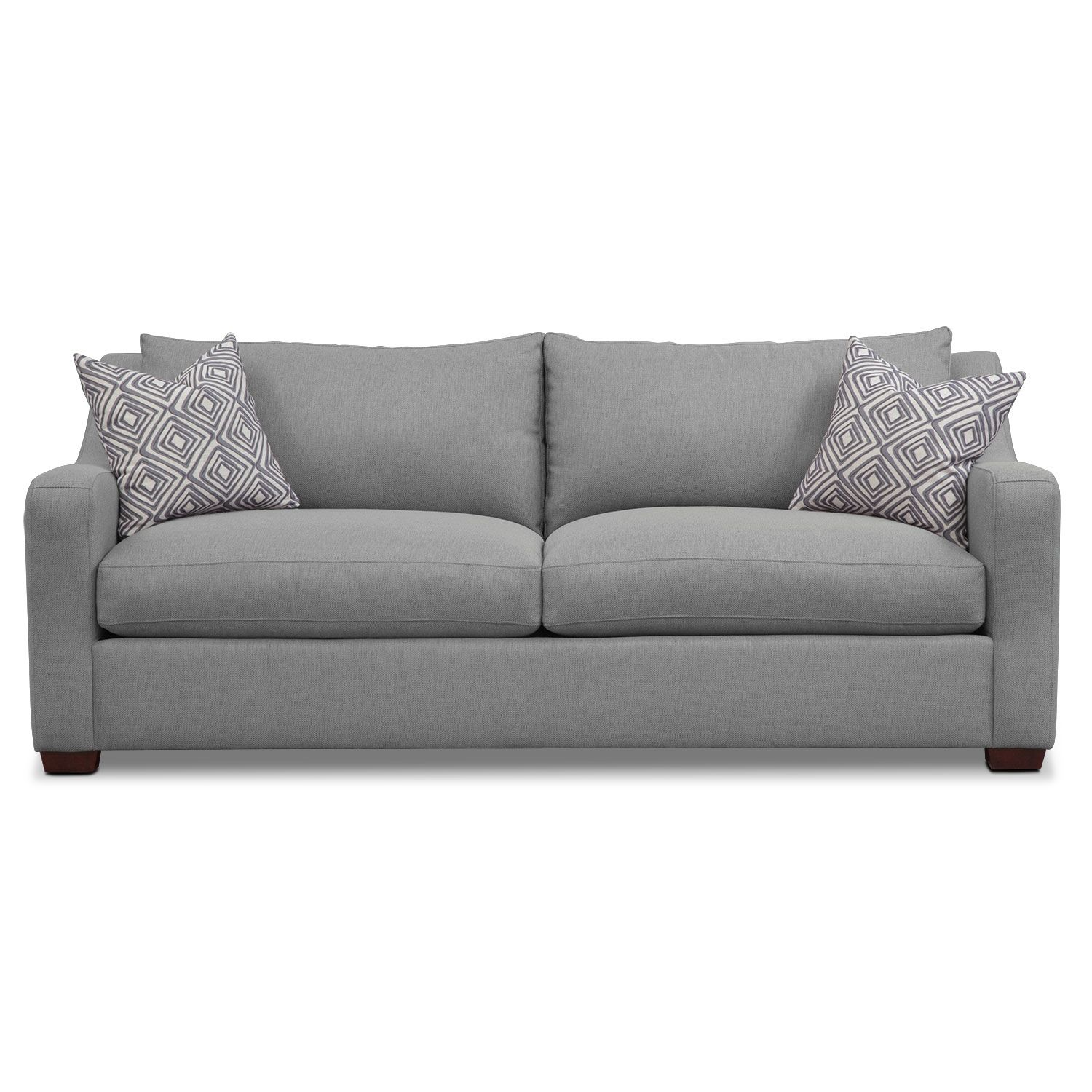 American Signature Furniture Com: Graceful Gray. Versatile Gray Color And Classic Design