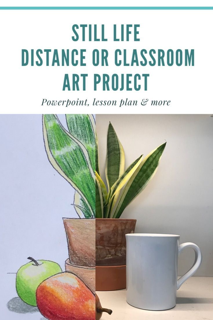 Distance learning art project still life in 2020 art