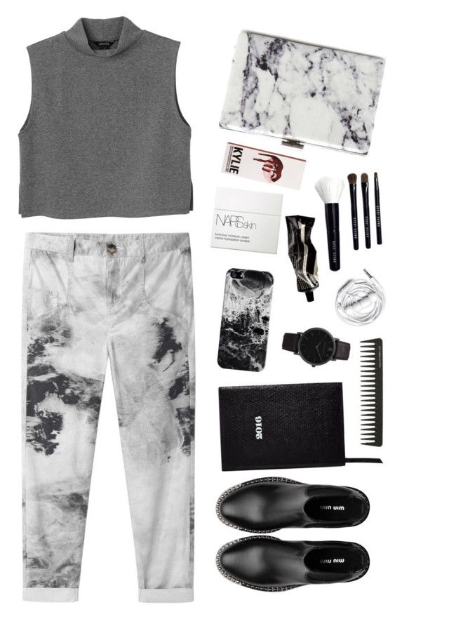"""""""#50"""" by el-gance ❤ liked on Polyvore featuring Helmut by Helmut Lang, Monki, Casetify, Aesop, Balenciaga, Bobbi Brown Cosmetics, Miu Miu, GHD, Urbanears and Larsson & Jennings"""