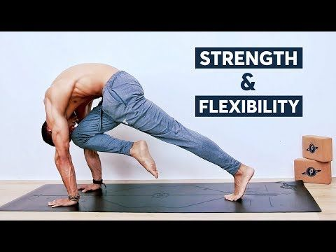 yoga routine for strength  flexibility  all levels